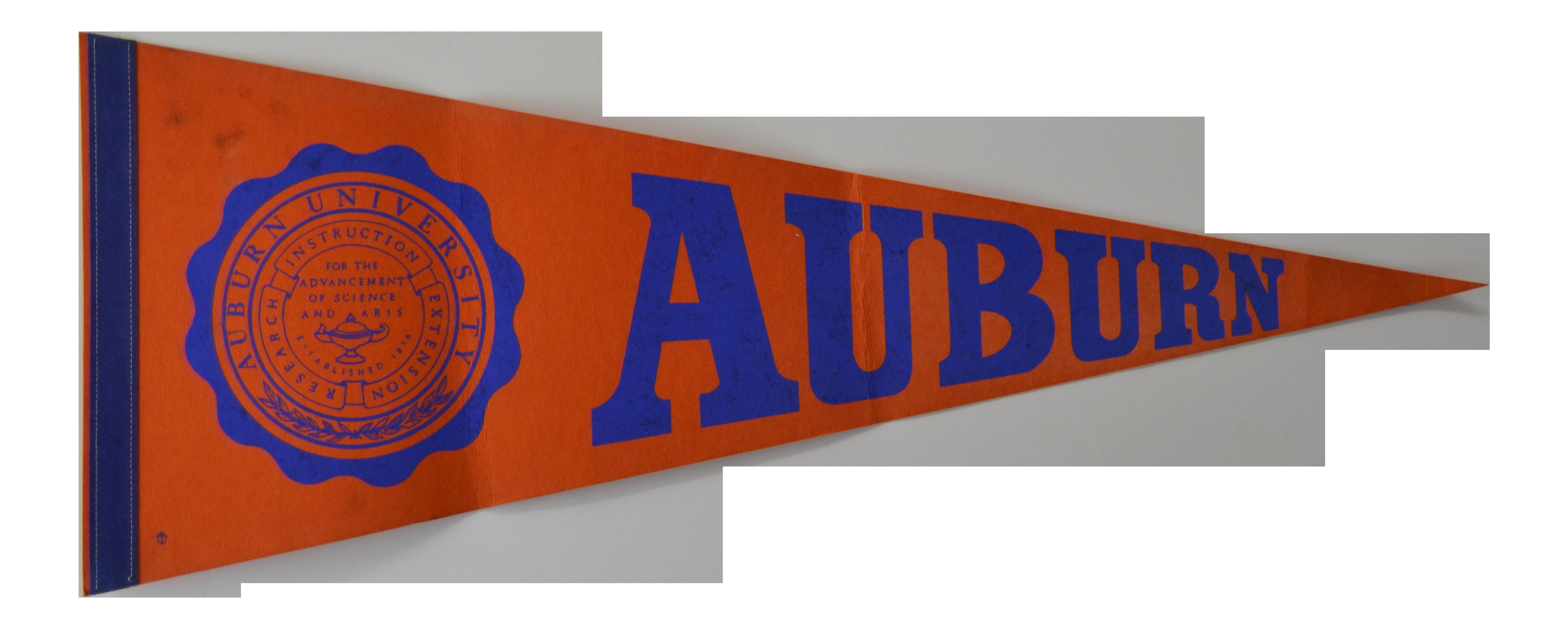 Vintage Auburn University Pennant Chairish