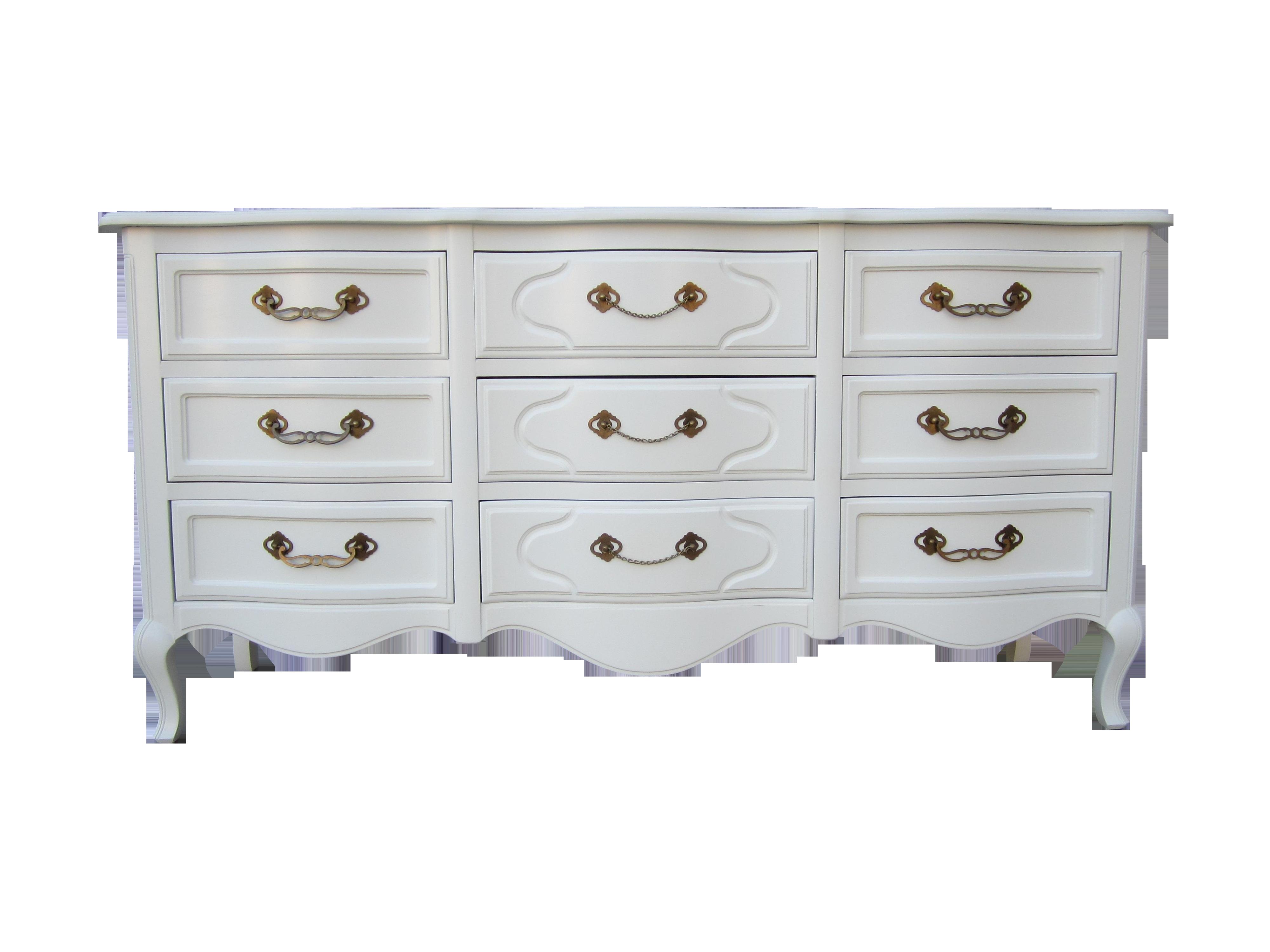 Drexel White Vintage French Country Dresser Chairish