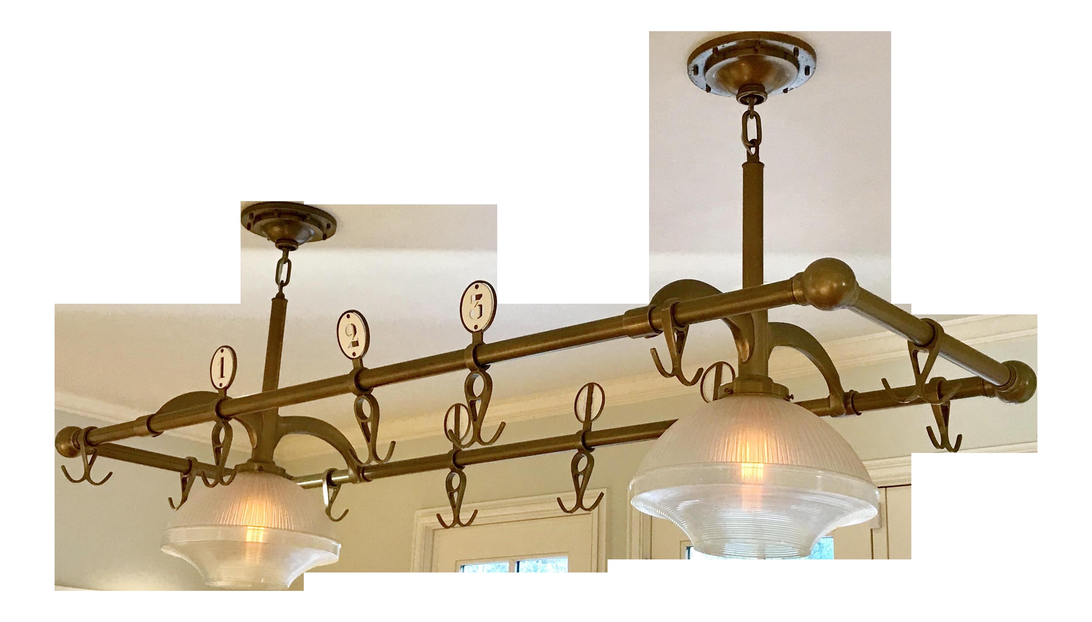 sc 1 st  Chairish & Urban Archaeology Industrial Pot Rack Lights | Chairish