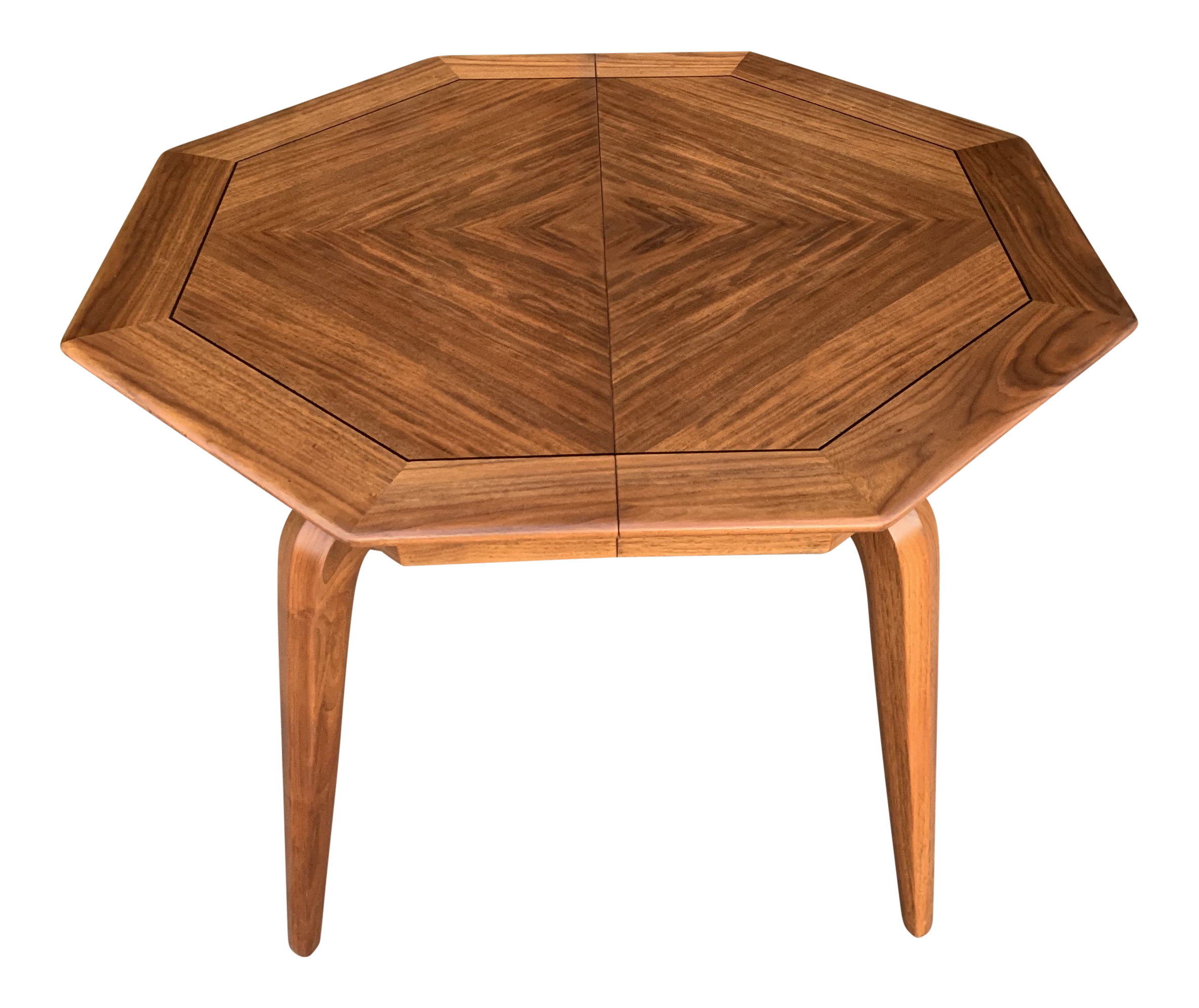 Mid Century Modern Expandable Dining Table By Maurice Bailey Chairish