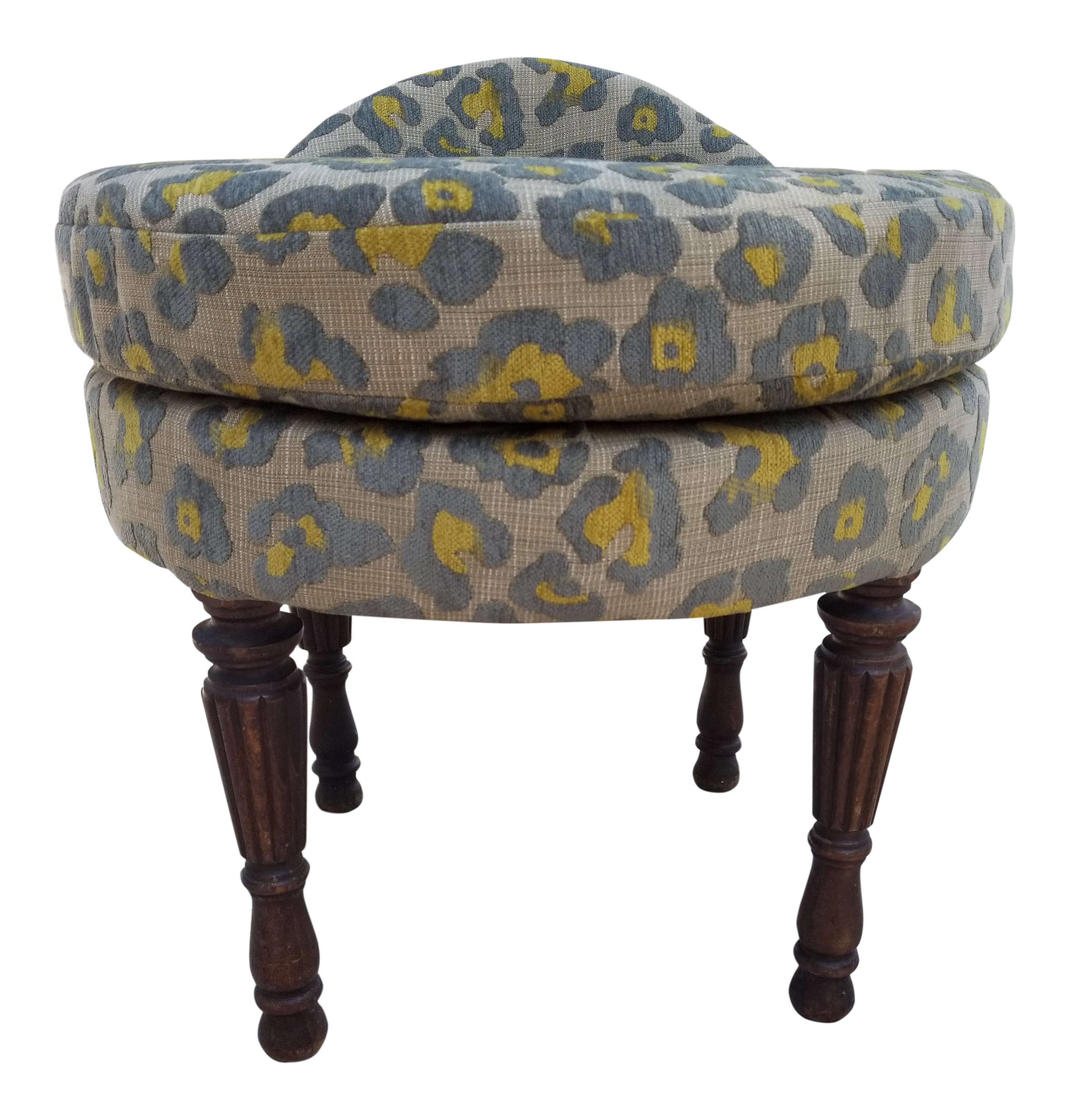 leopard hide f ottoman seating zebra id print bench furniture ottomans custom at poufs cocktail master upholstered