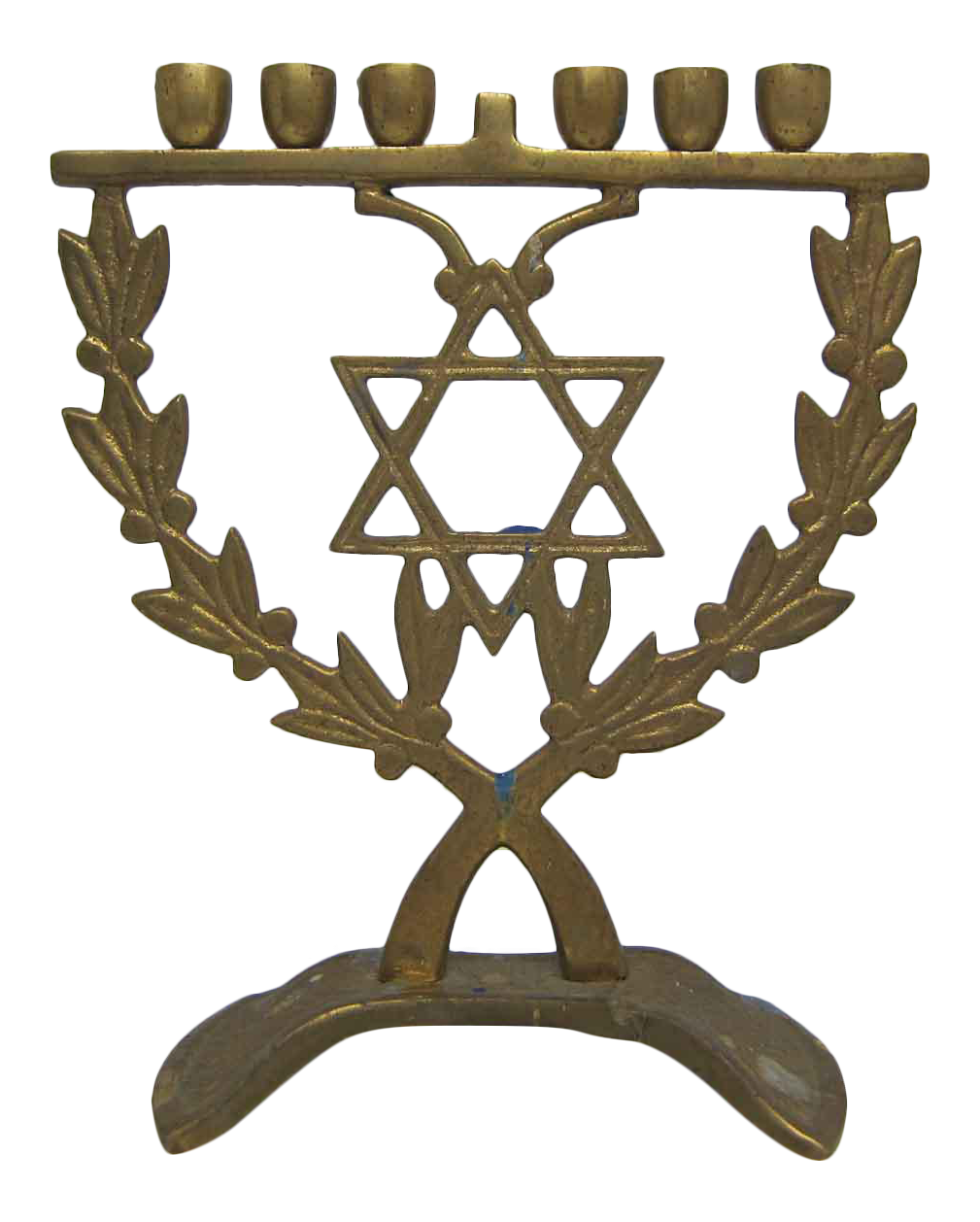 brass jewish candle holder chairish With kitchen cabinet trends 2018 combined with jewish hanukkah candle holder