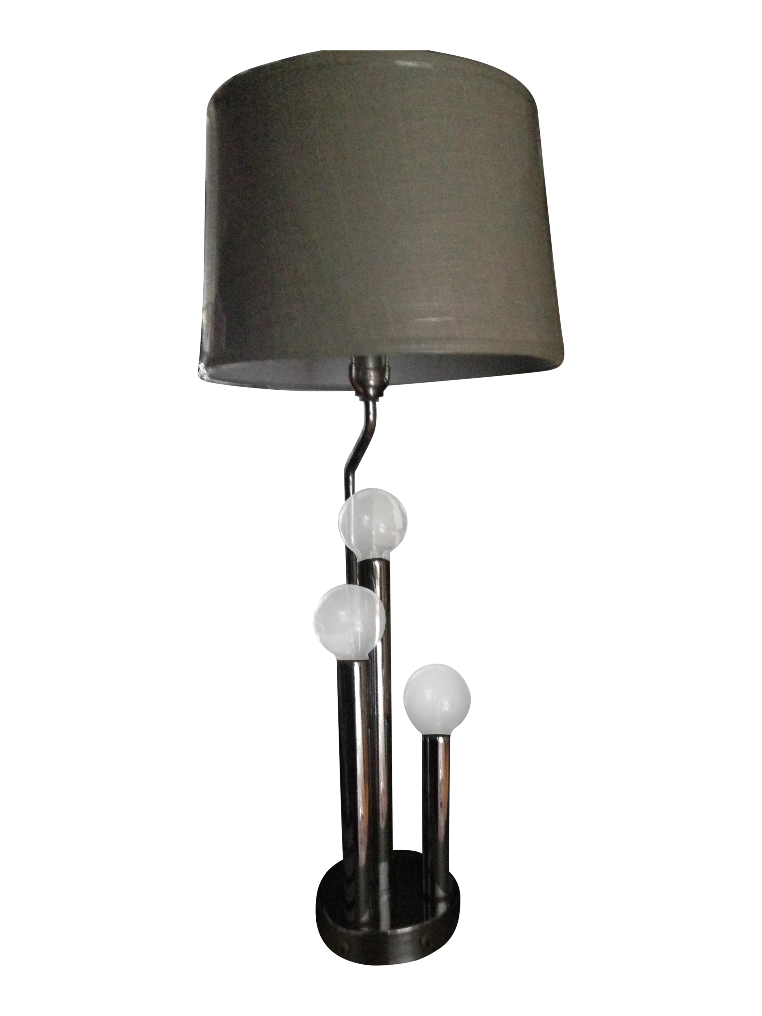 Vintage Mid Century Modern Chrome Table Lamp Chairish