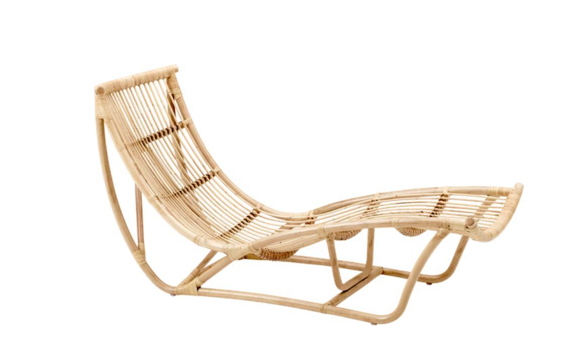 Franco albini bamboo chaise longue chairish for Chaise longue ireland