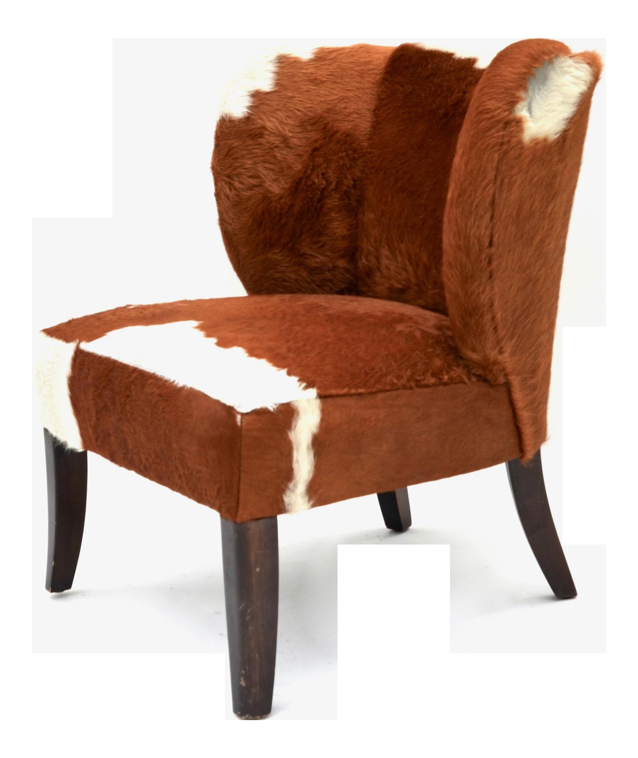 Vintage Cowhide Chair