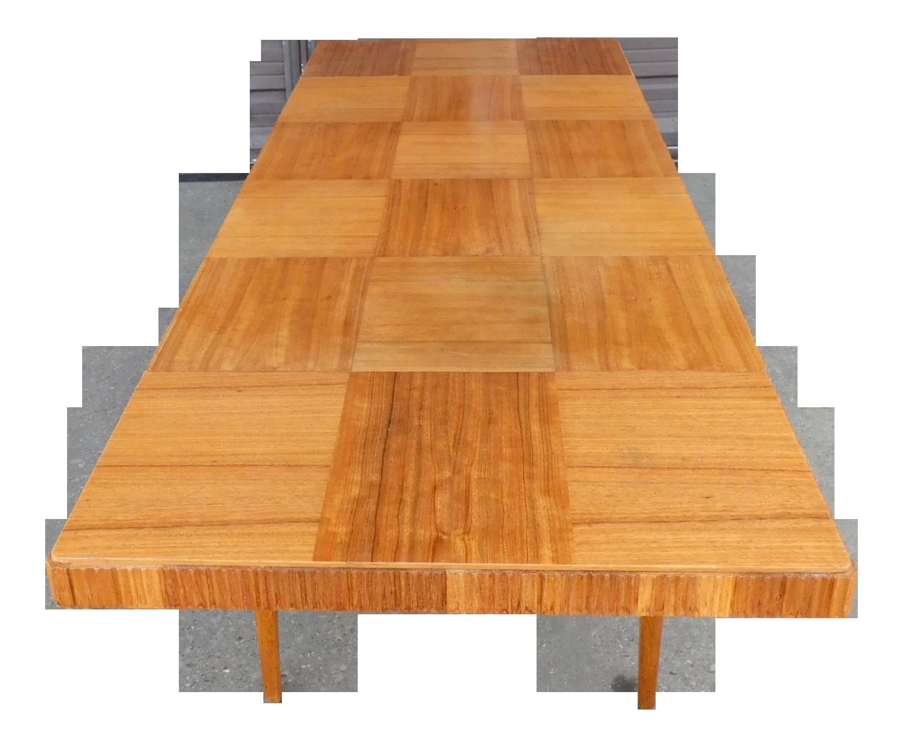 Image of: Swedish Mid Century Modern Extendable Dining Table Chairish