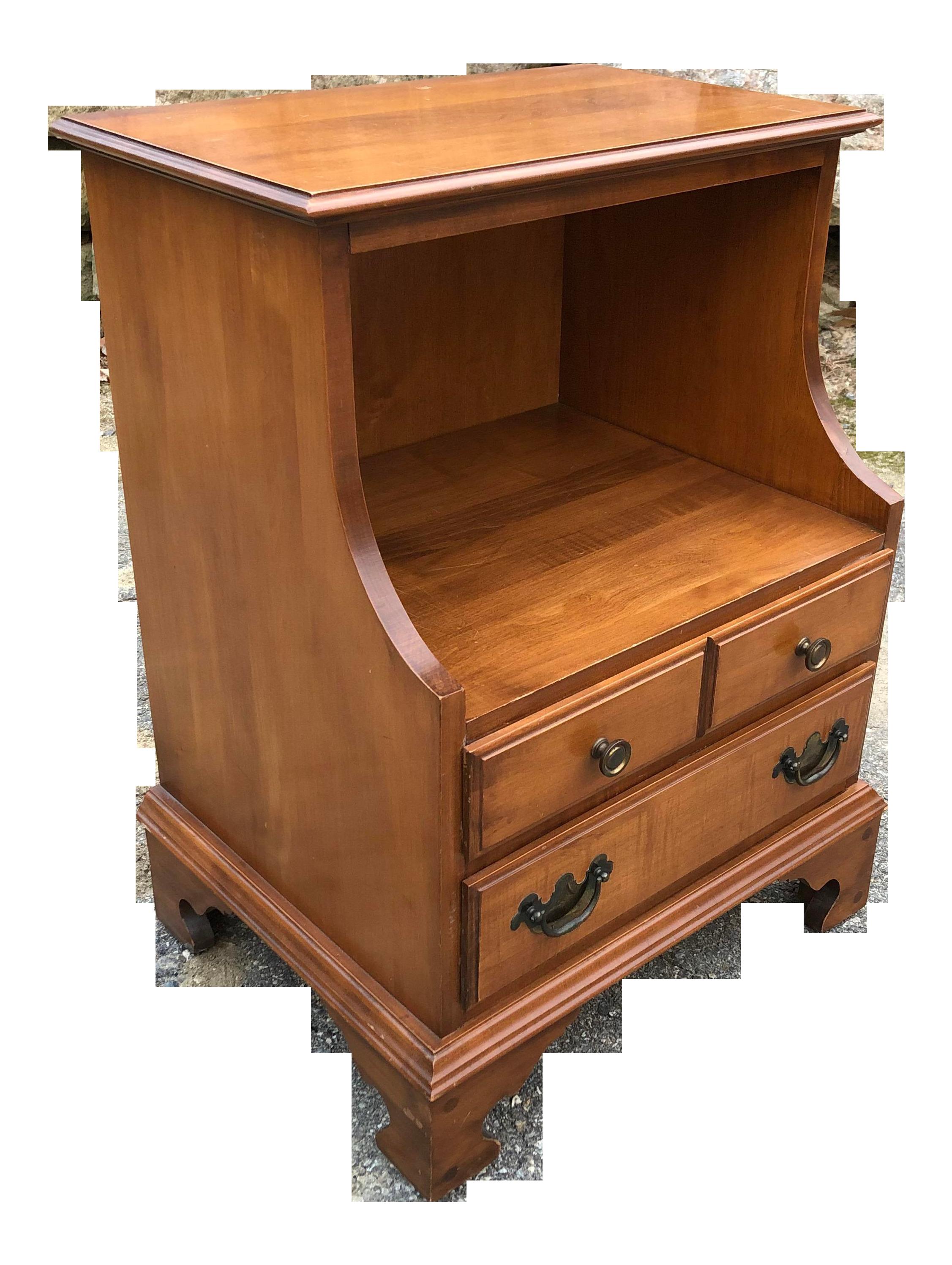 Sanford Furniture Solid Cherry Nightstand