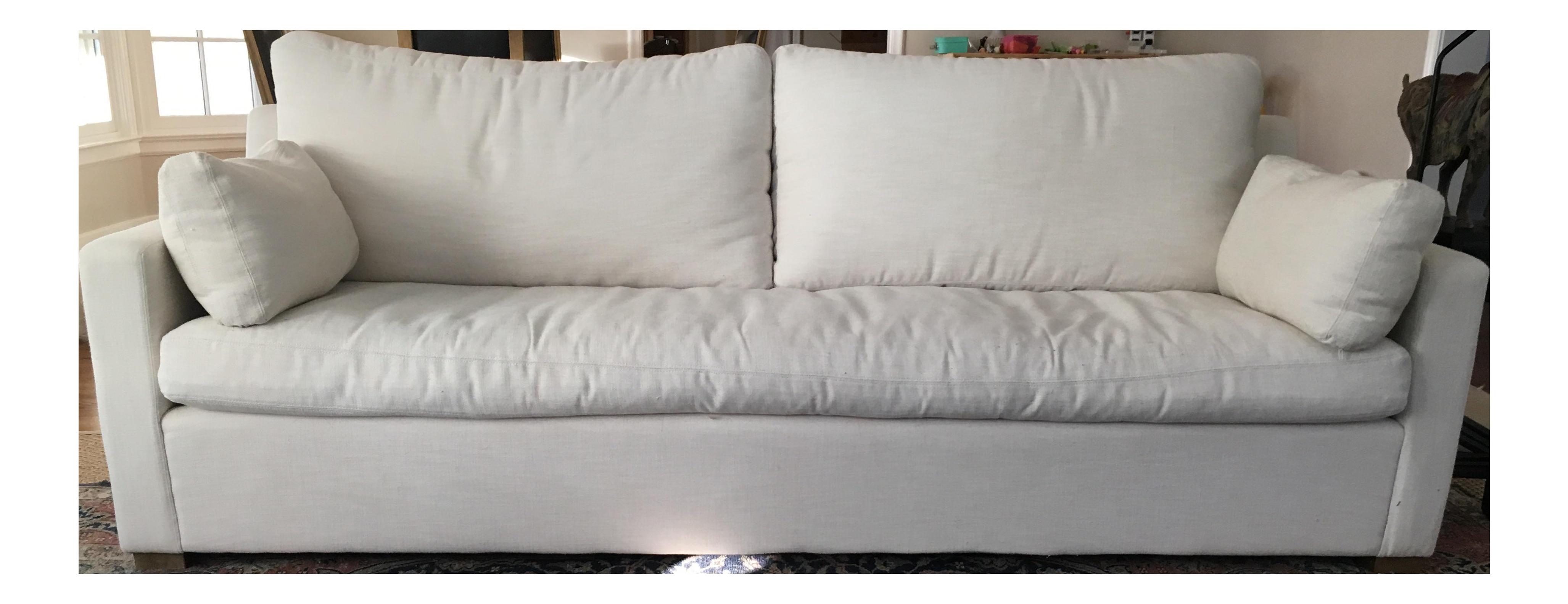Restoration Hardware Belgian Track Arm Sofa