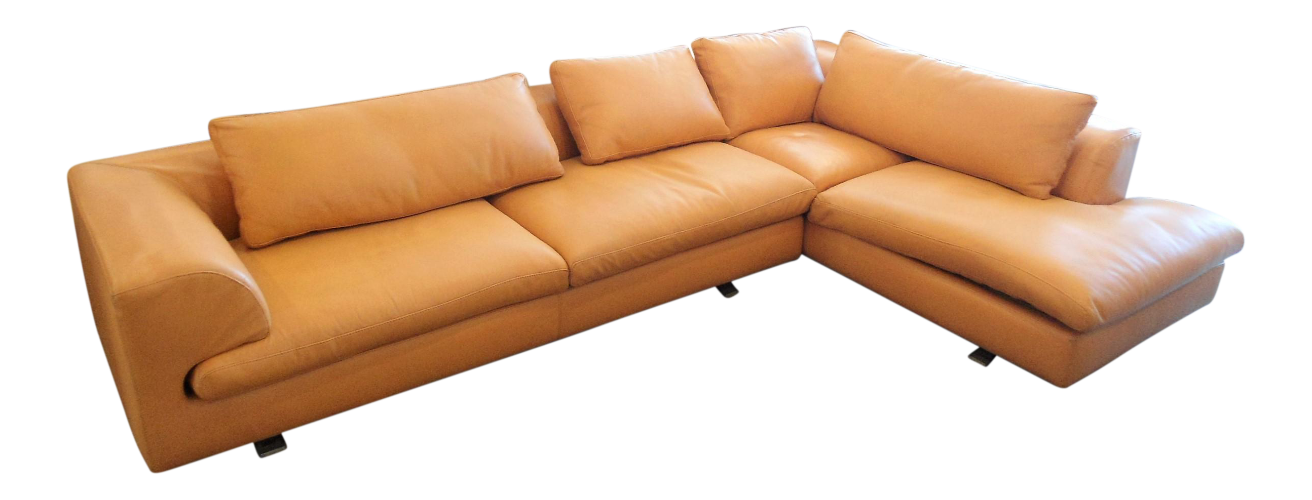 orange size burnt sectional couch leather image large sofa set inspirations of orangeer remarkable craigslist sleeper