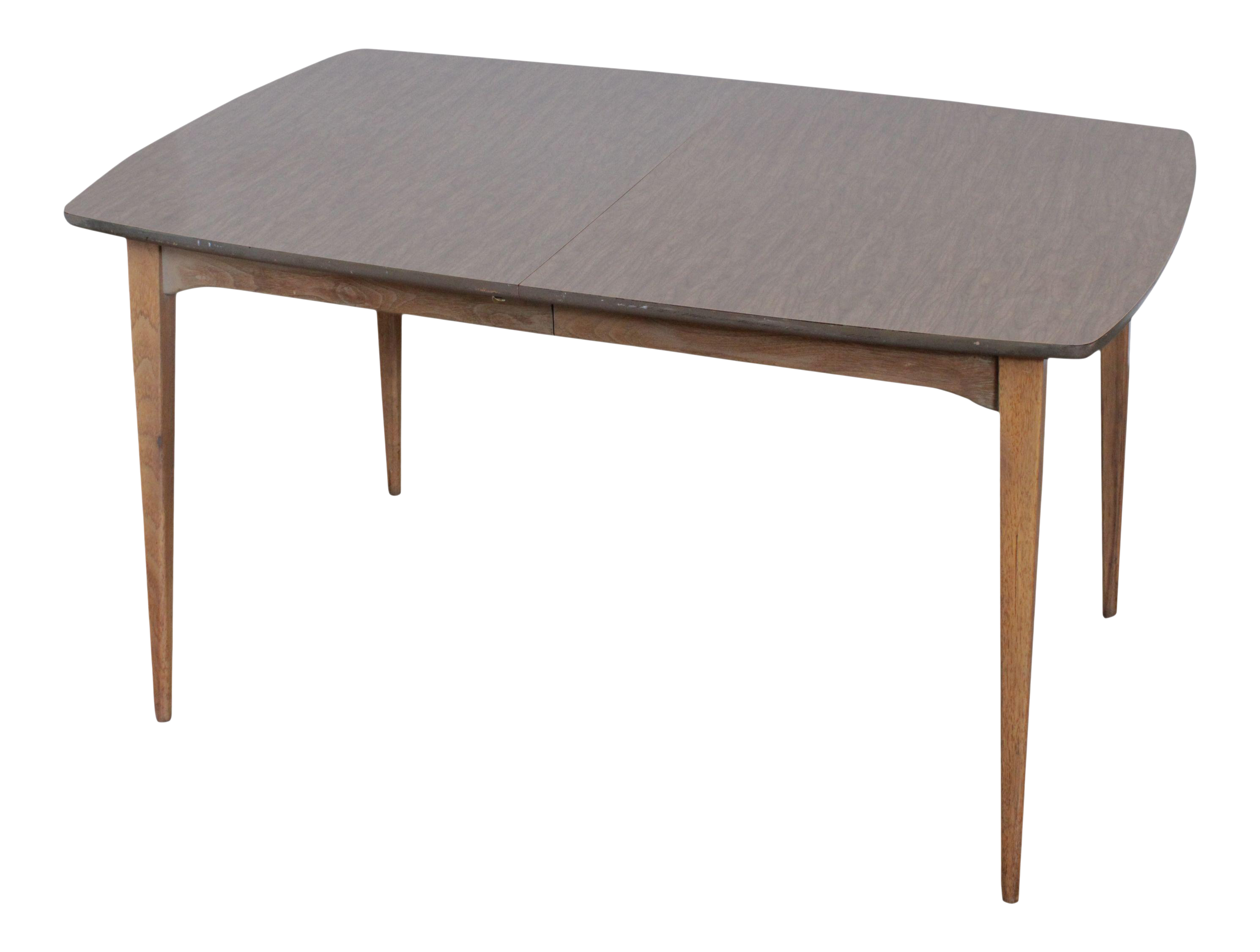 Mid Century Modern Expandable Dining Table Chairish