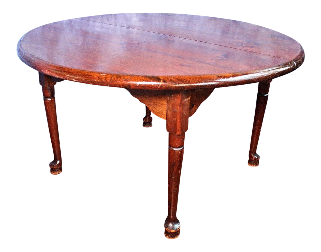 Antique Queen Anne Style Round Dining Table Chairish : antique queen anne style round dining table 2688 from www.chairish.com size 1262 x 991 png 1814kB