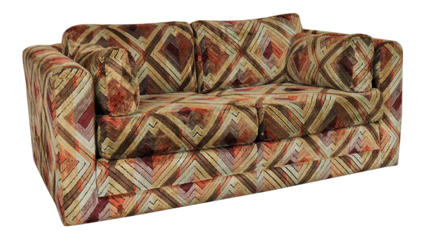 Prime Tuxedo Mod Loveseat Sofa In Jack Lenor Larsen Style Fabric Caraccident5 Cool Chair Designs And Ideas Caraccident5Info