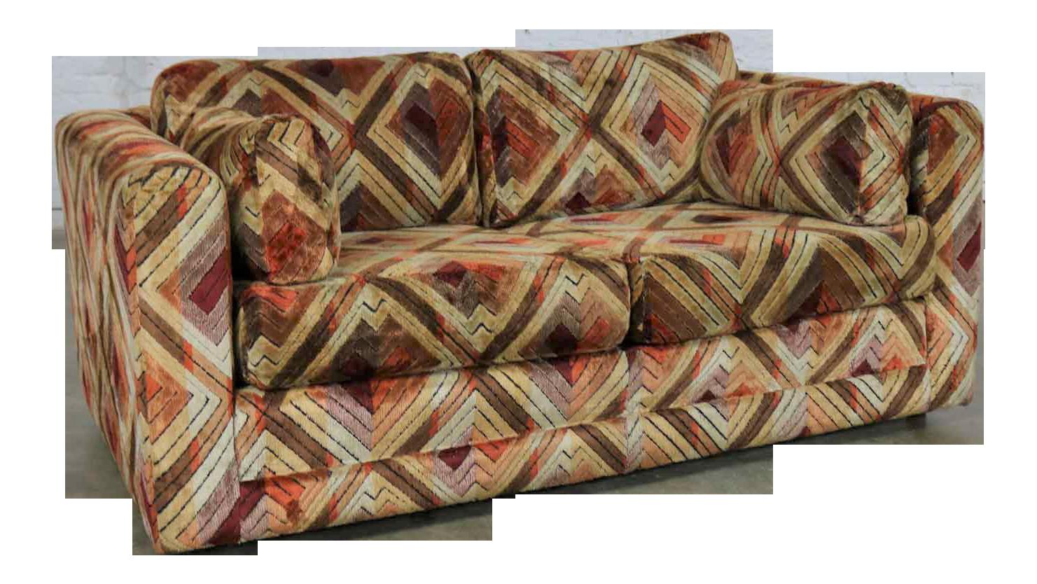 Superb Tuxedo Mod Loveseat Sofa In Jack Lenor Larsen Style Fabric Customarchery Wood Chair Design Ideas Customarcherynet
