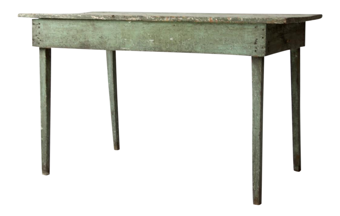American primitive kitchen table chairish for 52 kitchen table