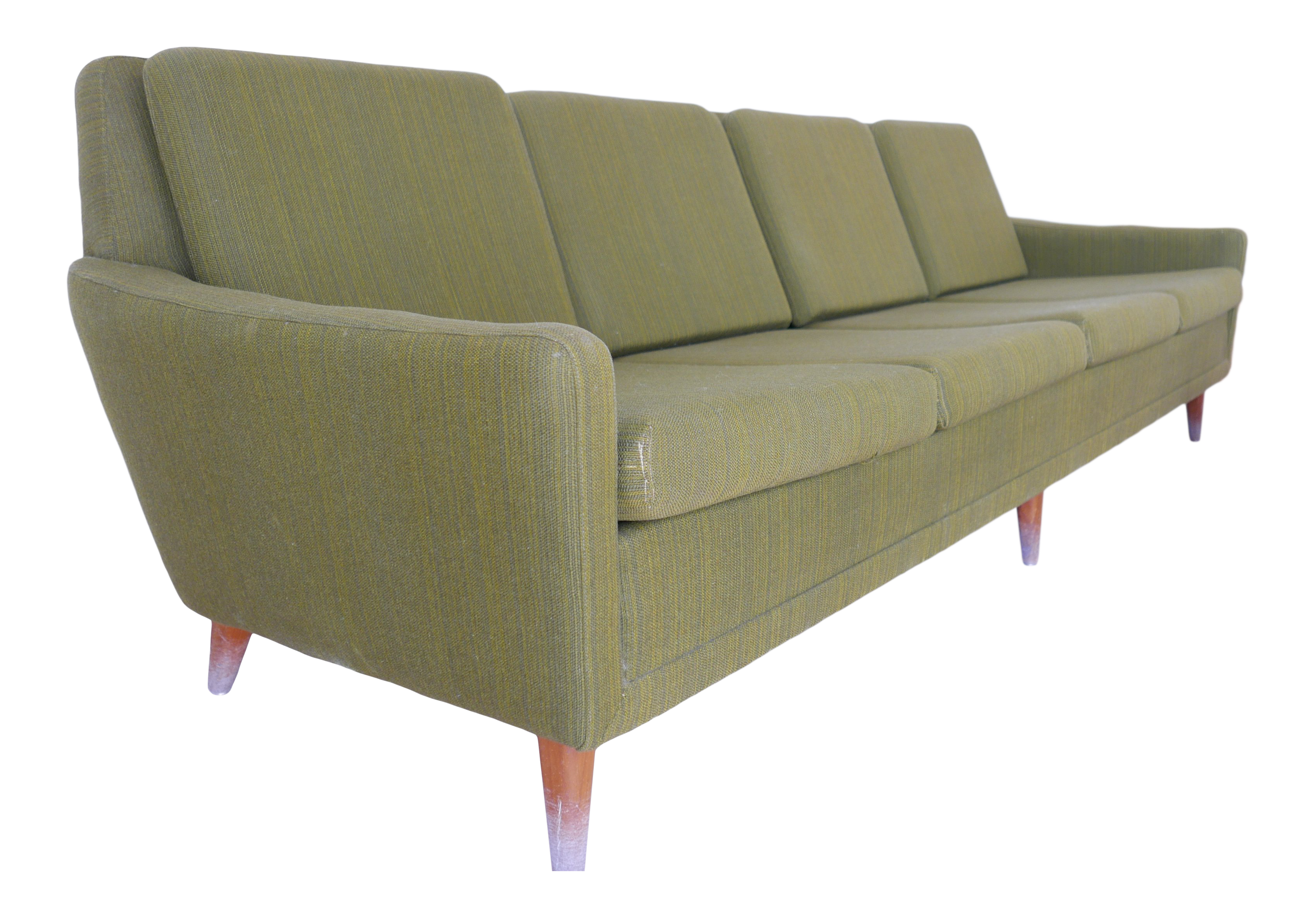 1960s Vintage Folke Ohlsson For Swedish Dux Sofa