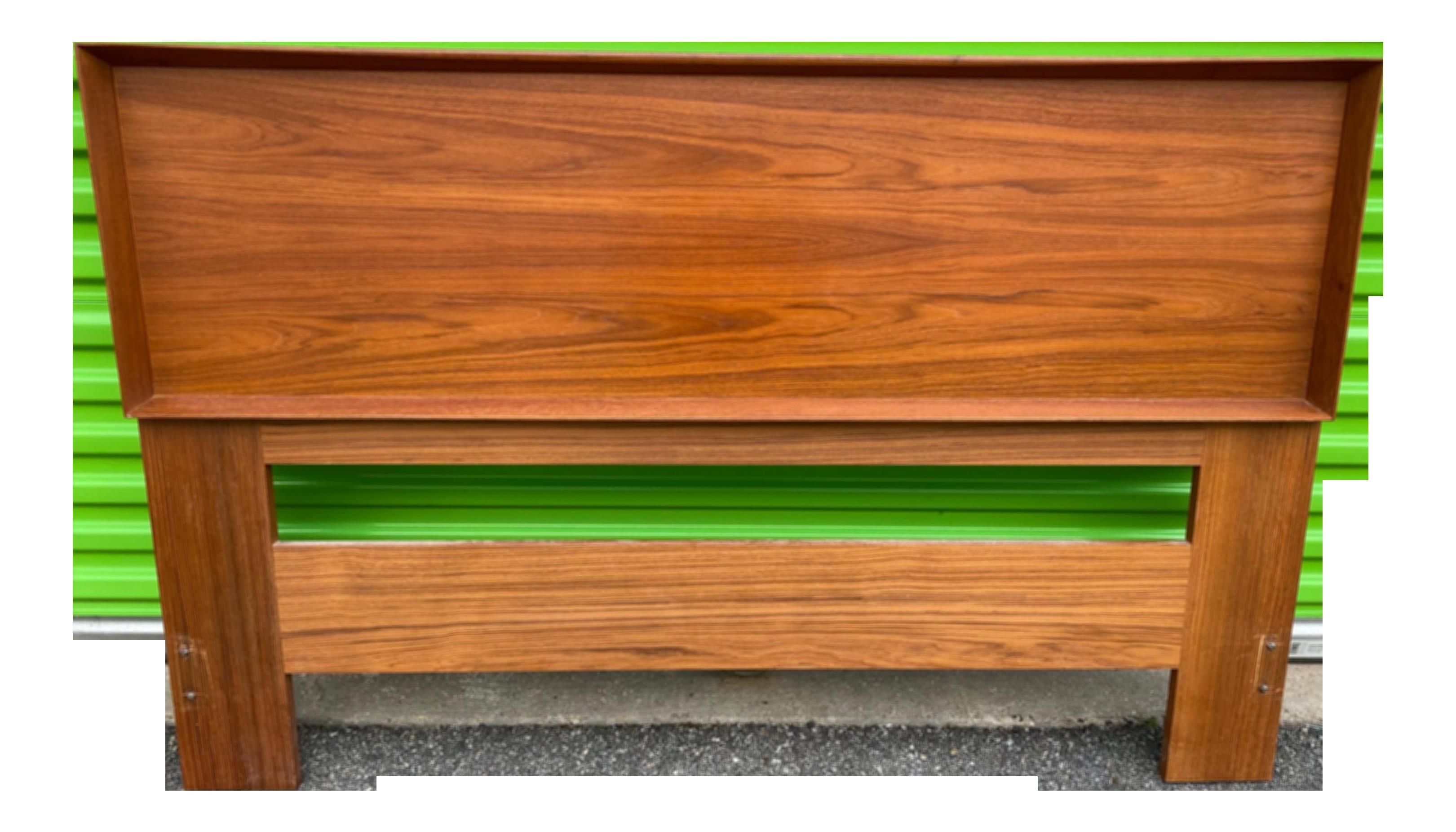 mid century modern queen headboard
