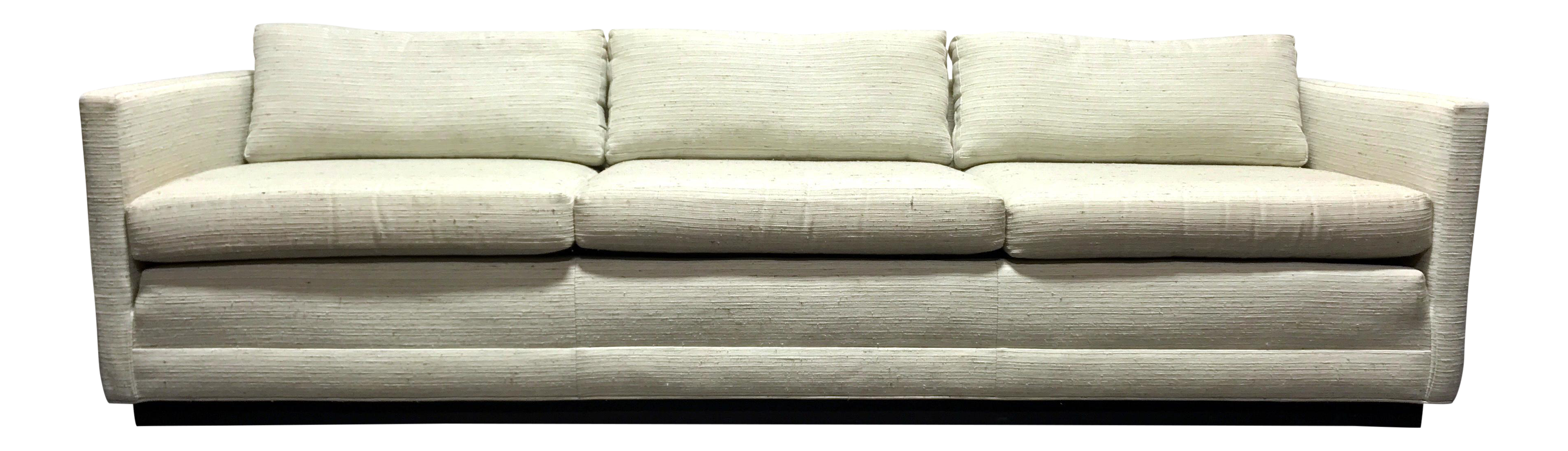 Merveilleux Mid Century Modern MCM Cube Sofa In The Style Of Jack Cartwright | Chairish