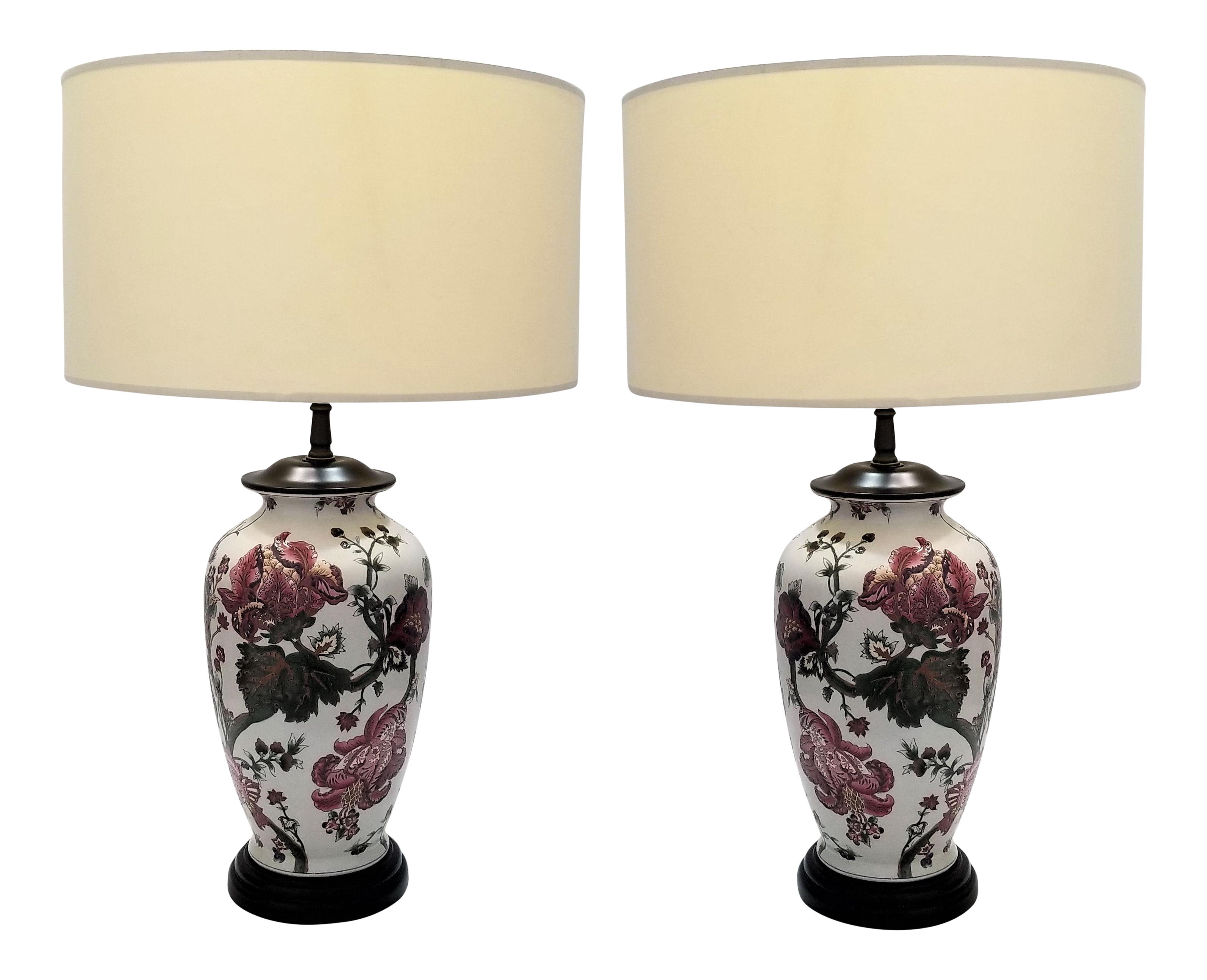 confettistyle lamp lamps porcelain winning table ceramic white antiquenese traditional uk vintage