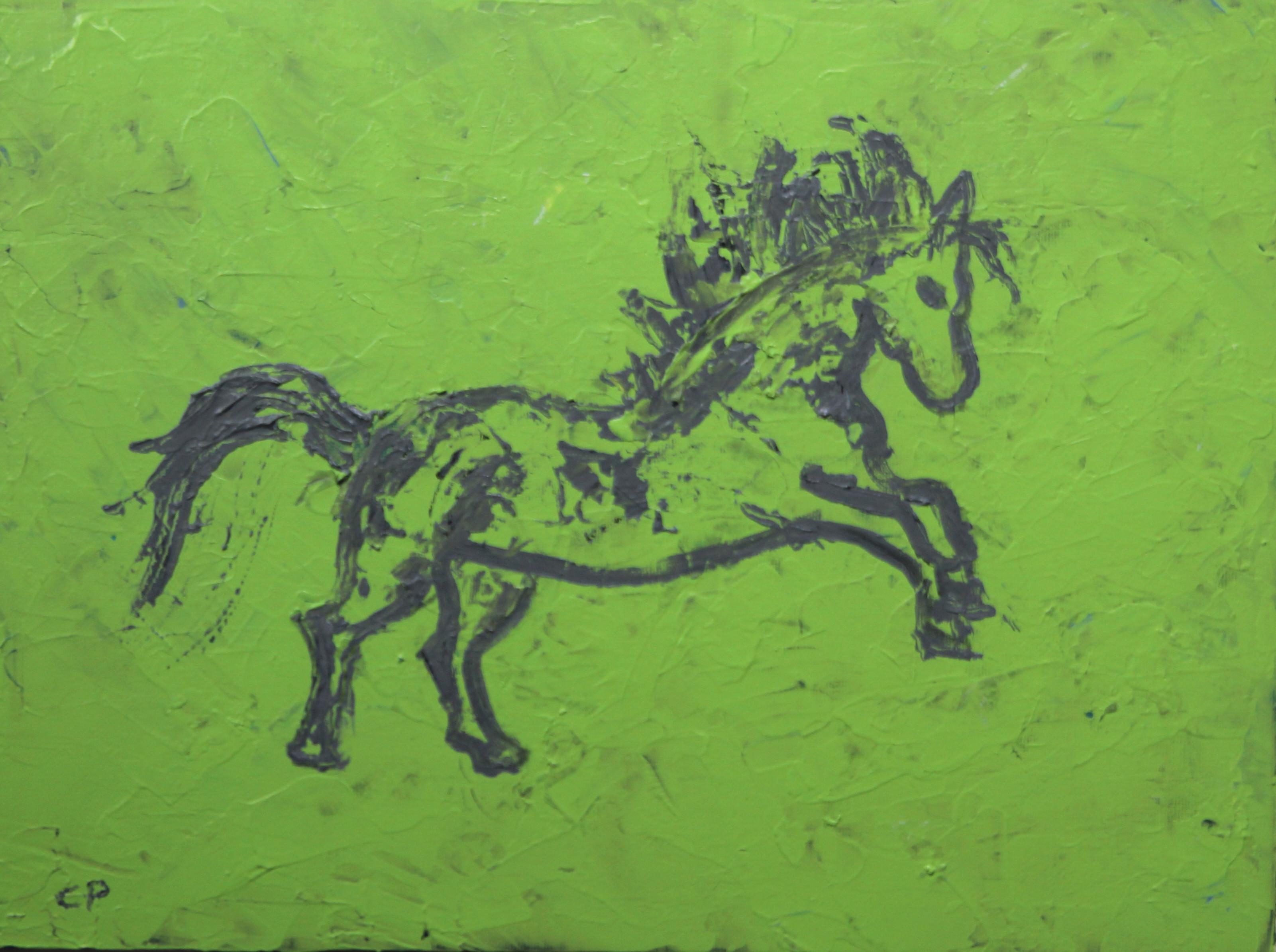 Abstract Horse Painting By Cleo Plowden Chairish
