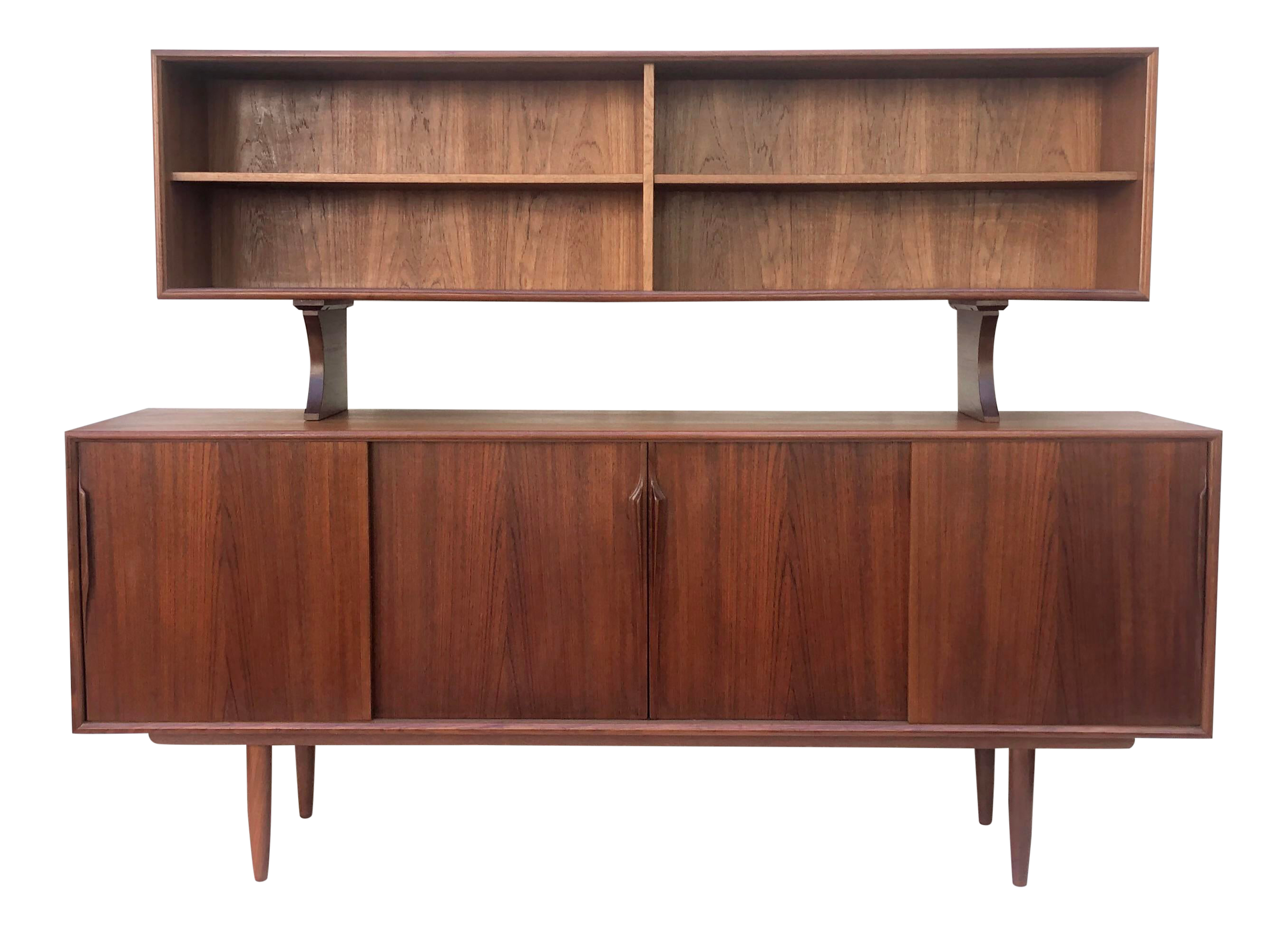 Picture of: Mid Century Modern Sideboard W Topper By Axel Christiansen For Gunni Omann Chairish