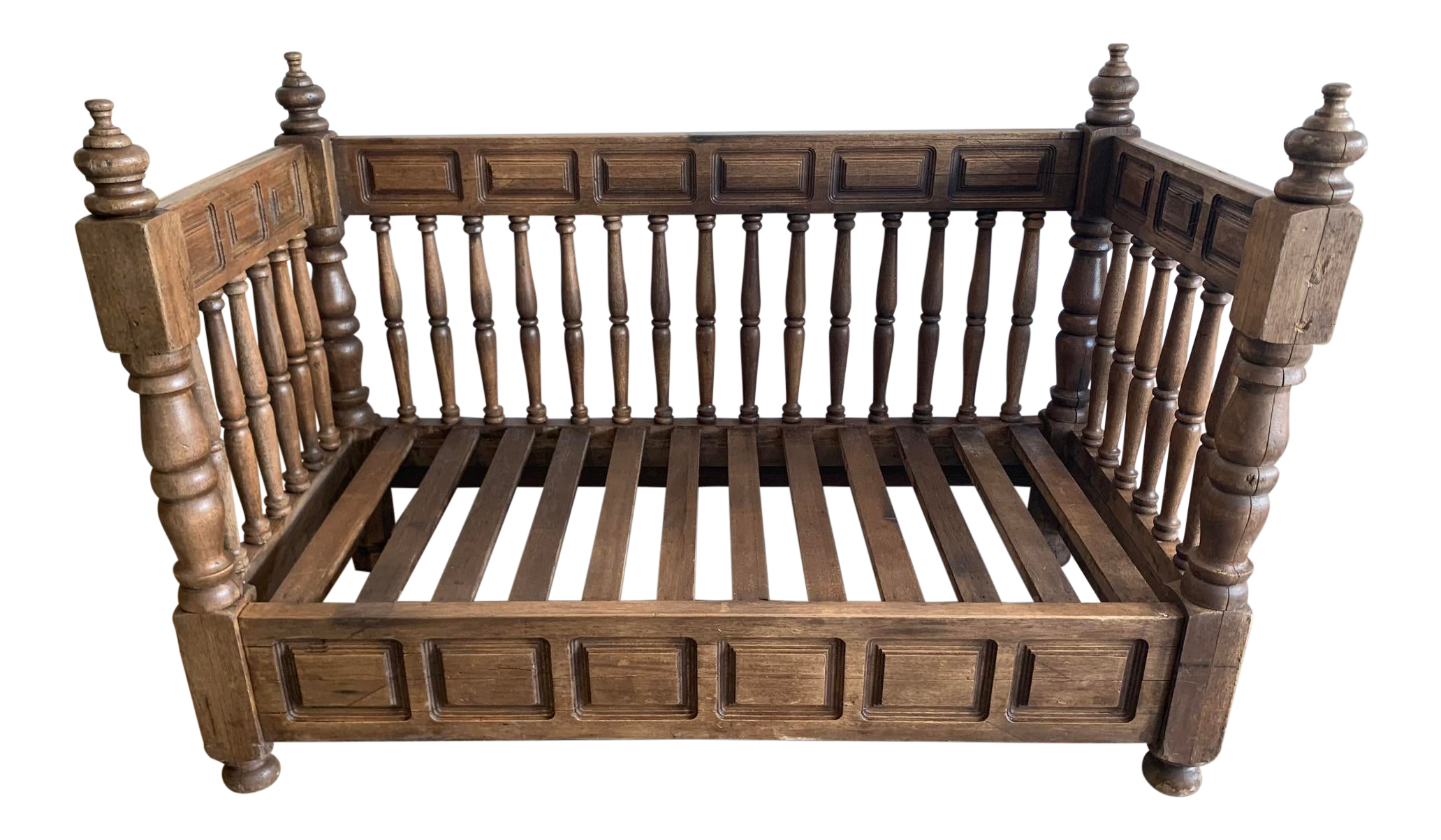 - Early 20th Century European Wood Daybed Frame Chairish