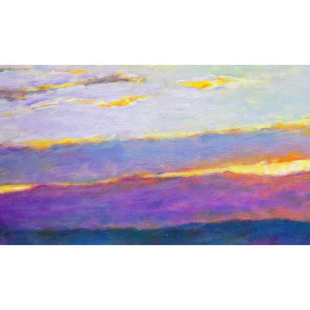 Impressionism Ken Elliott, Sun Behind the Foothills, 2017 For Sale - Image 3 of 5