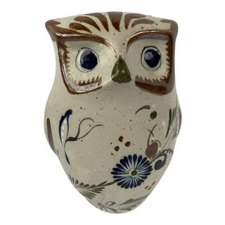 Vintage Tonola Ceramic Owl For Sale