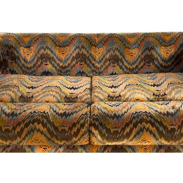 Brown Mid Century Modern Milo Baughman for Thayer Coggin Sofa For Sale - Image 8 of 12