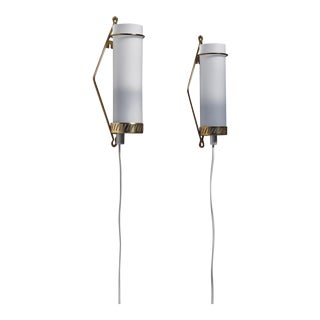 Maria Lindeman Pair of Wall Lamps for Idman, Finland, 1950s For Sale