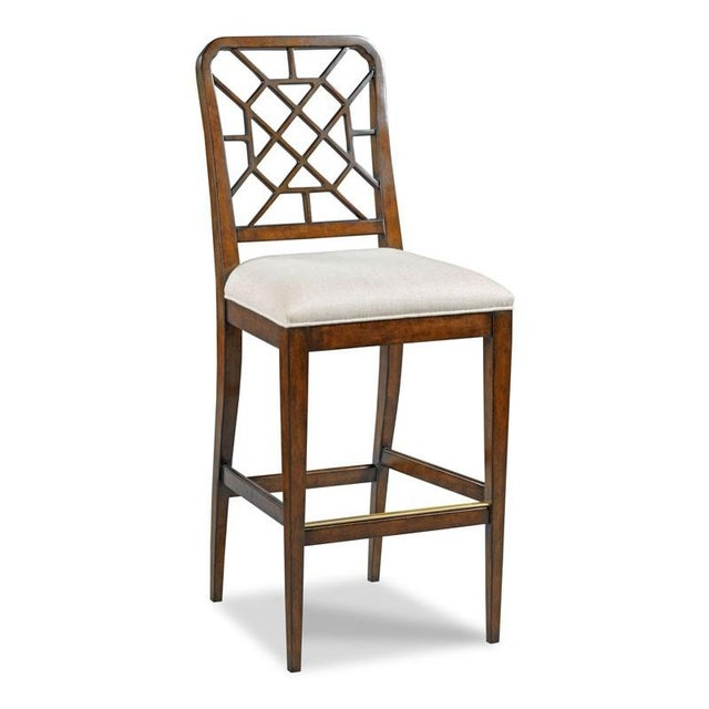 Traditional Modern Merrion Counter Stool For Sale - Image 3 of 3