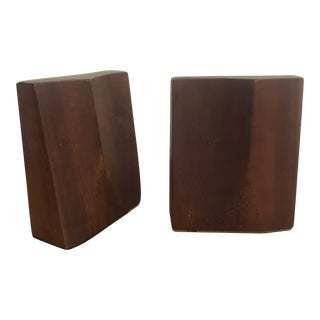 Rude Osolnik Mid-Century Modern Bookends - a Pair