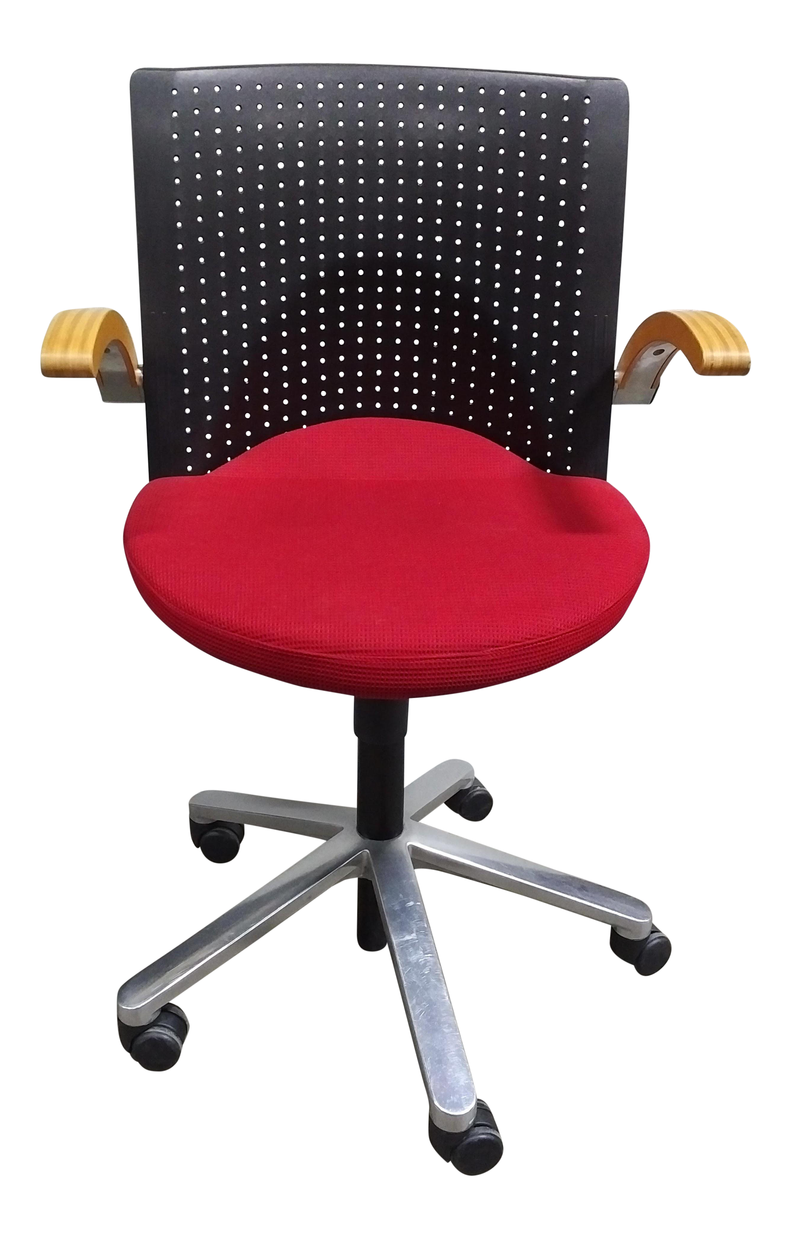Charmant Wilkhahn Red Task Chair