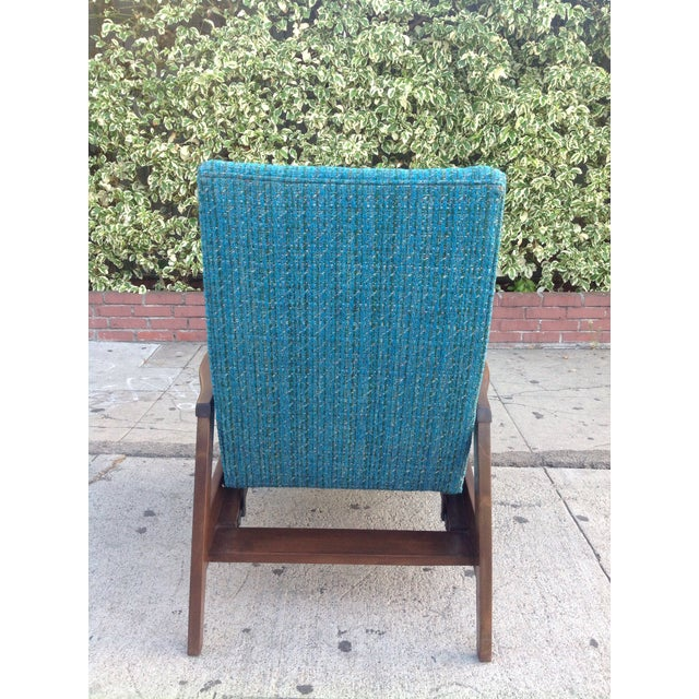 Mid-Century Modern Mid-Century Modern Recliner Lounge Chair For Sale - Image 3 of 6