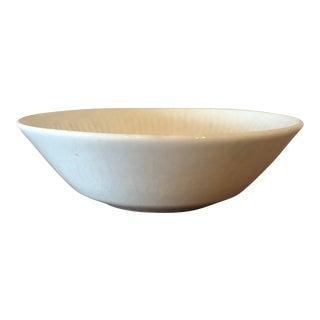 Vintage Johnson Bros Ironstone White Bowl For Sale