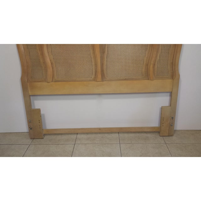 French Provincial Queen Size Headboard - Image 6 of 10