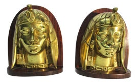 Image of Egyptian Revival Bookends