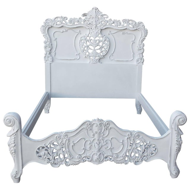 French Louis XV Style Bed Frame - Image 1 of 8