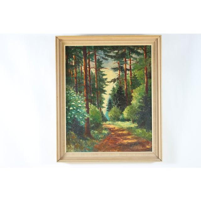 Parc de Chambord Oil Painting - Image 2 of 3