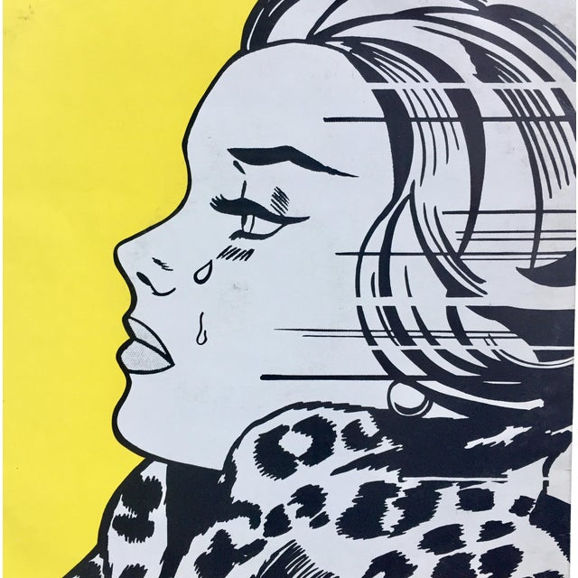 Roy Lichtenstein Record Cover Art For Sale