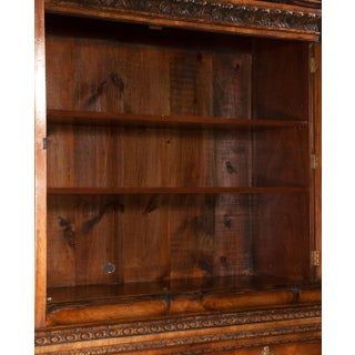Chippendale Style Walnut Two Part Bookcase Preview