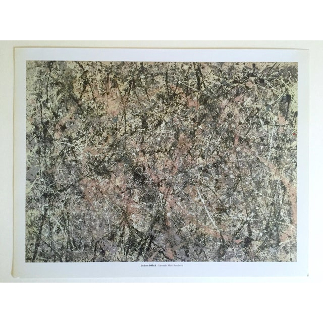 """Jackson Pollock Foundation Abstract Expressionist Collector's Lithograph Print """" Lavender Mist : No. 1 """" 1950 For Sale - Image 11 of 13"""
