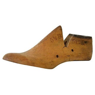 Vintage Cobbler's Wood Shoe Form