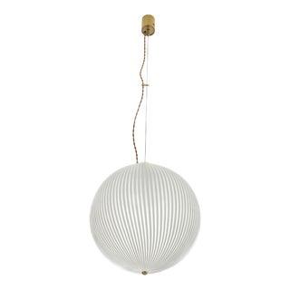 Globe Pendant Lamp for Venini, 1960s For Sale