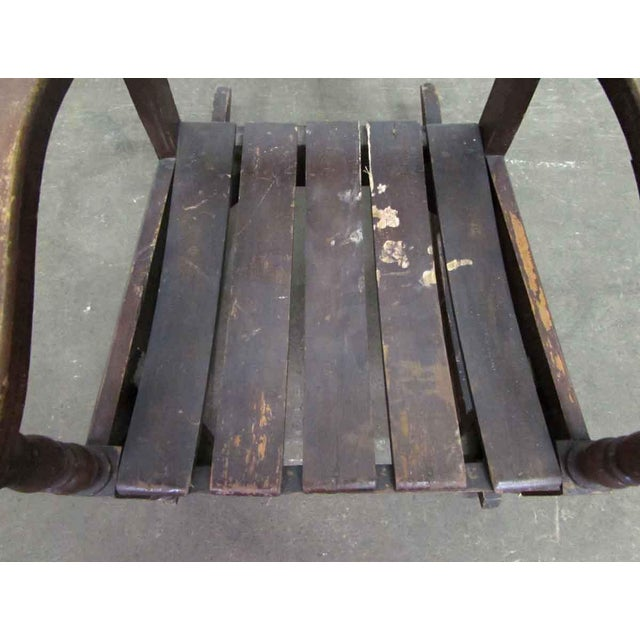 Wood Miniature Wooden Rocking Chair For Sale - Image 7 of 8