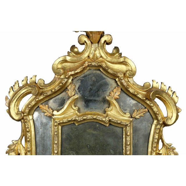 Venetian Giltwood Girondole Mirror For Sale - Image 4 of 10