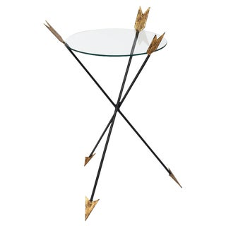 Empire Style Antique Arrow Side Table For Sale
