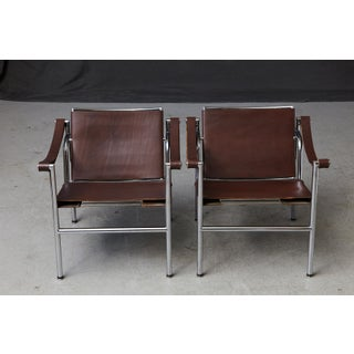 1960s Vintage Le Corbusier 'Corbu' 'Lc1', From Wohnbedarf Chairs - A Pair Preview