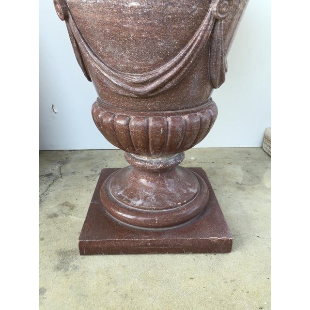 20th Century Marble Urn Form Base - Image 3 of 4