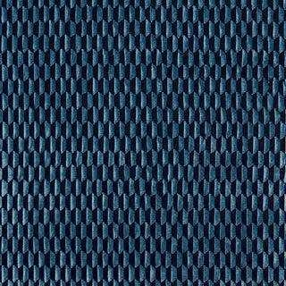 Scalamandre Allegra Velvet Fabric in Sapphire Sample For Sale