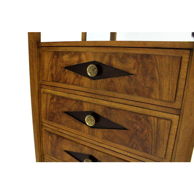 Empire Vitrine Light Up Display Cabinet or Chest of Drawers For Sale In New York - Image 6 of 9